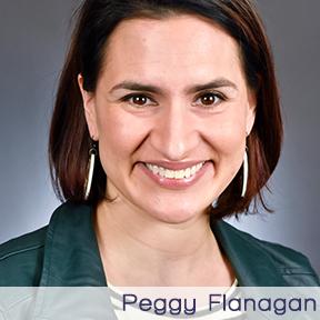 WGF Peggy Flanagan