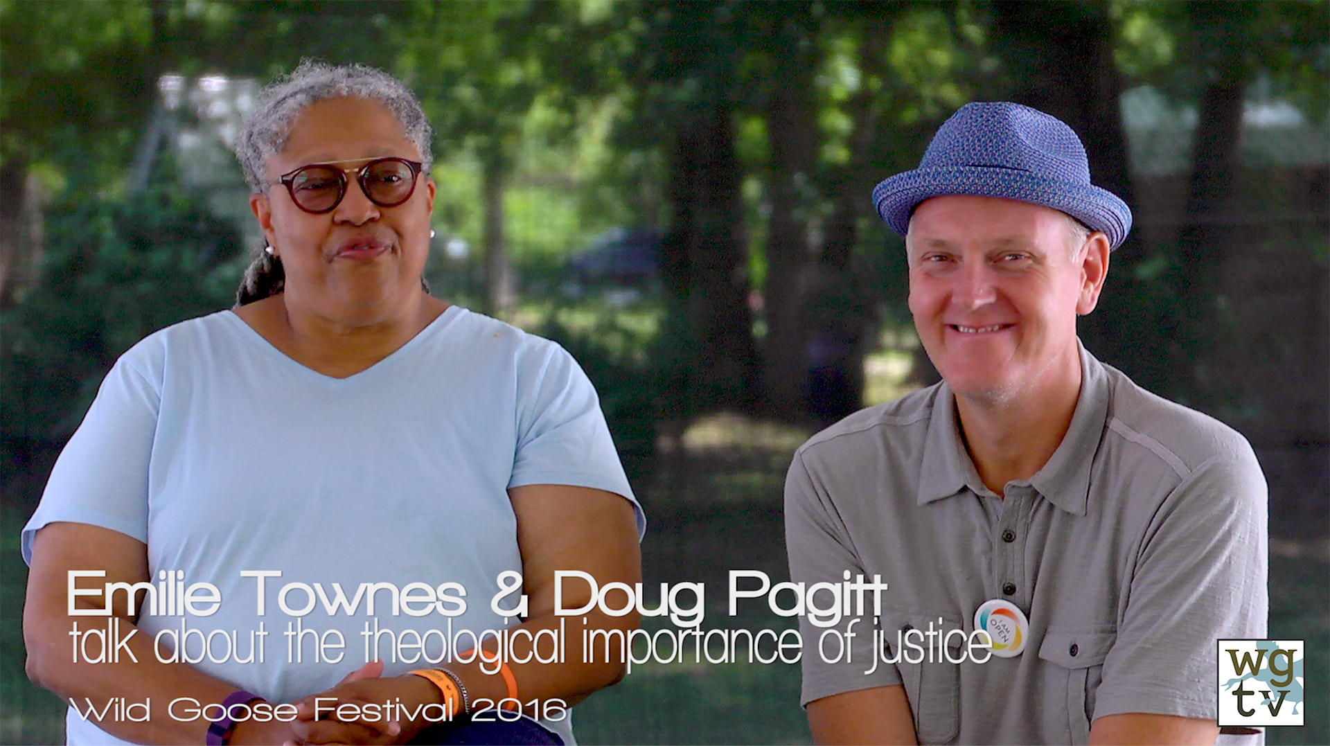 Emilie Townes and Doug Pagitt