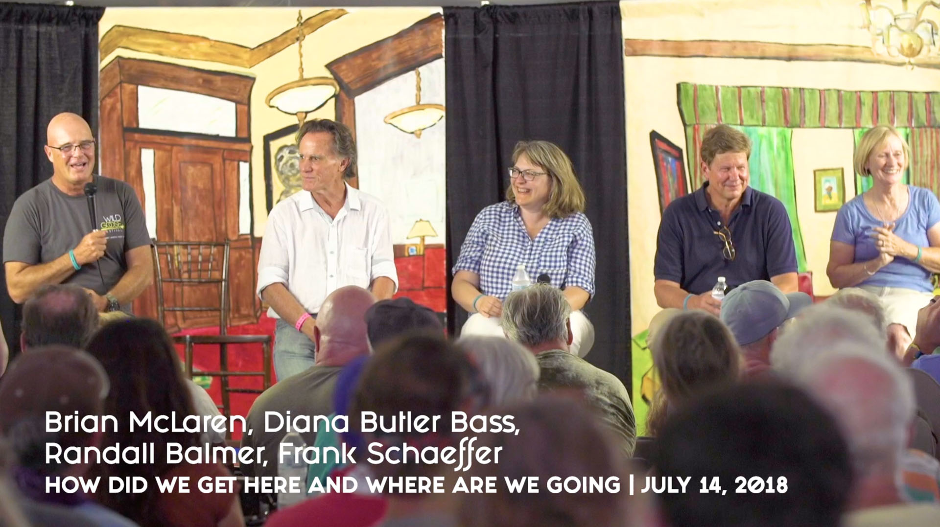 How did we get here and where are we going - Brian McLaren, Diana Butler Bass, Randall Balmer, Frank Schaeffer