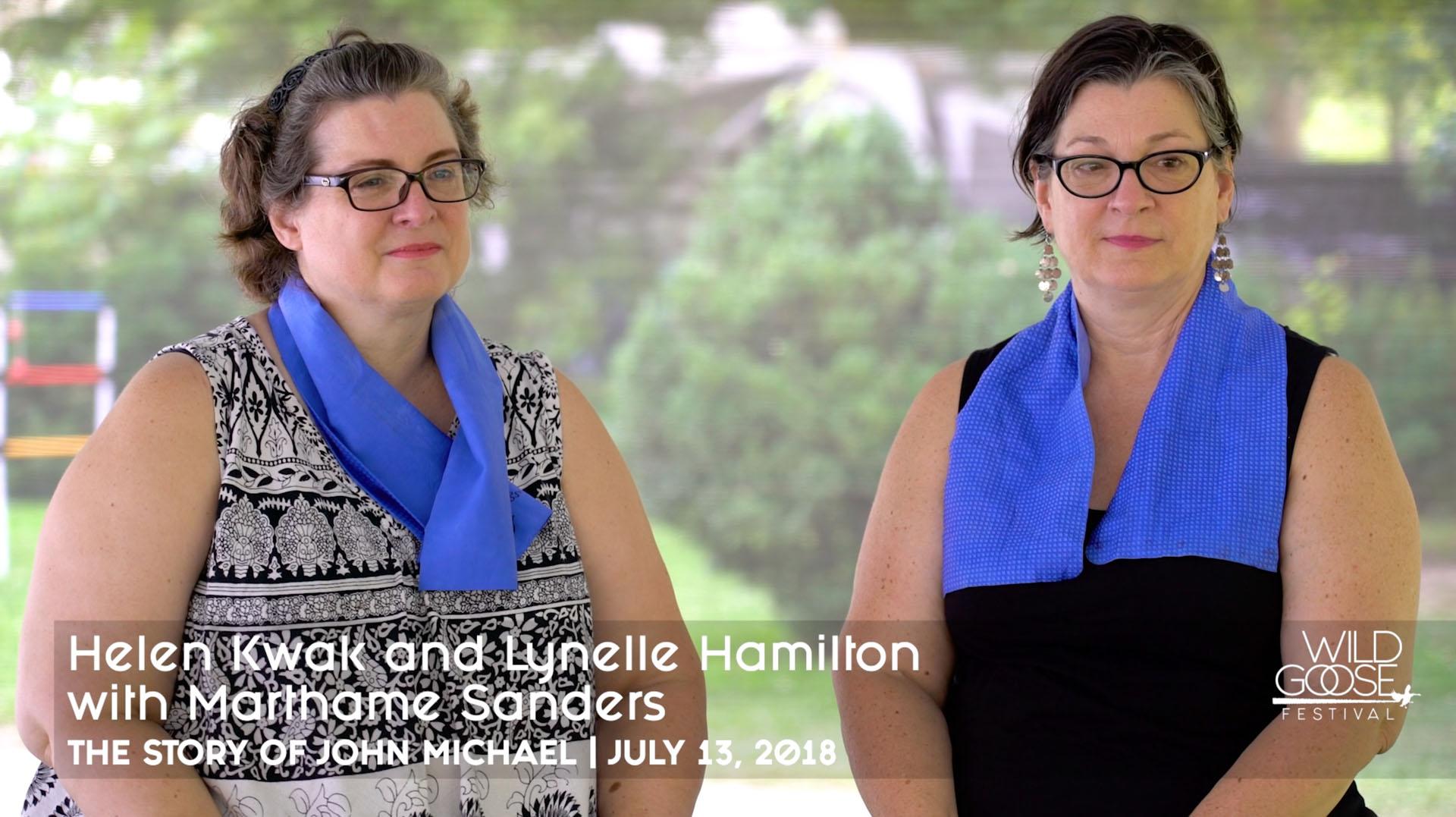 John Michael's Story Helen Kwak & Lynelle Hamilton