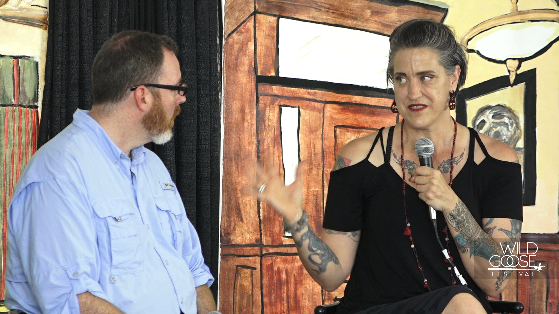 Nadia Bolz Weber and Science Mike