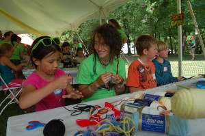 Being Creative At The Wild Goose Festival