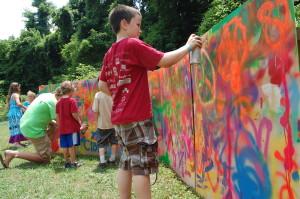 Kids Getting Creative At Wild Goose