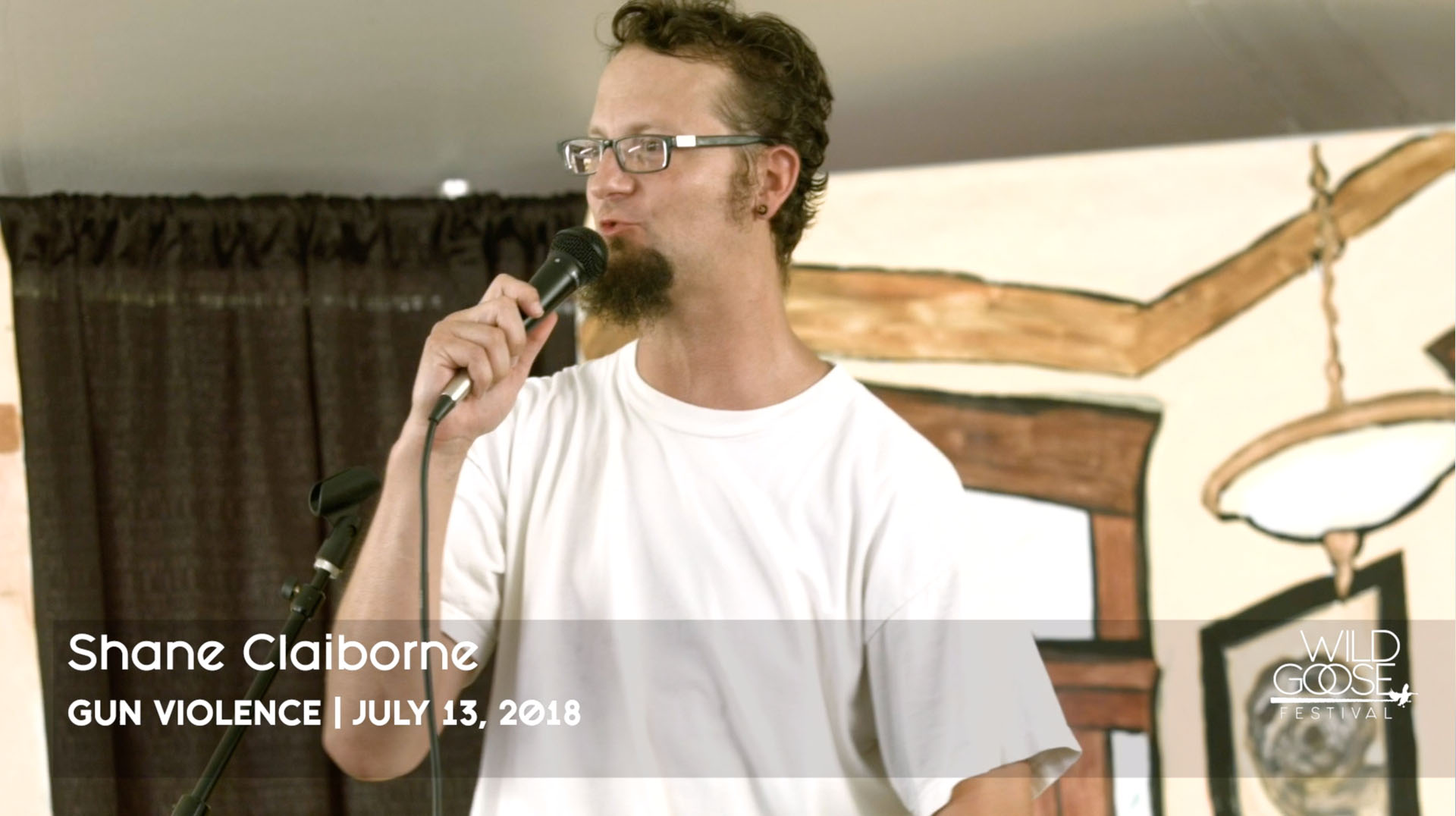 Shane Claiborne on Gun Violence