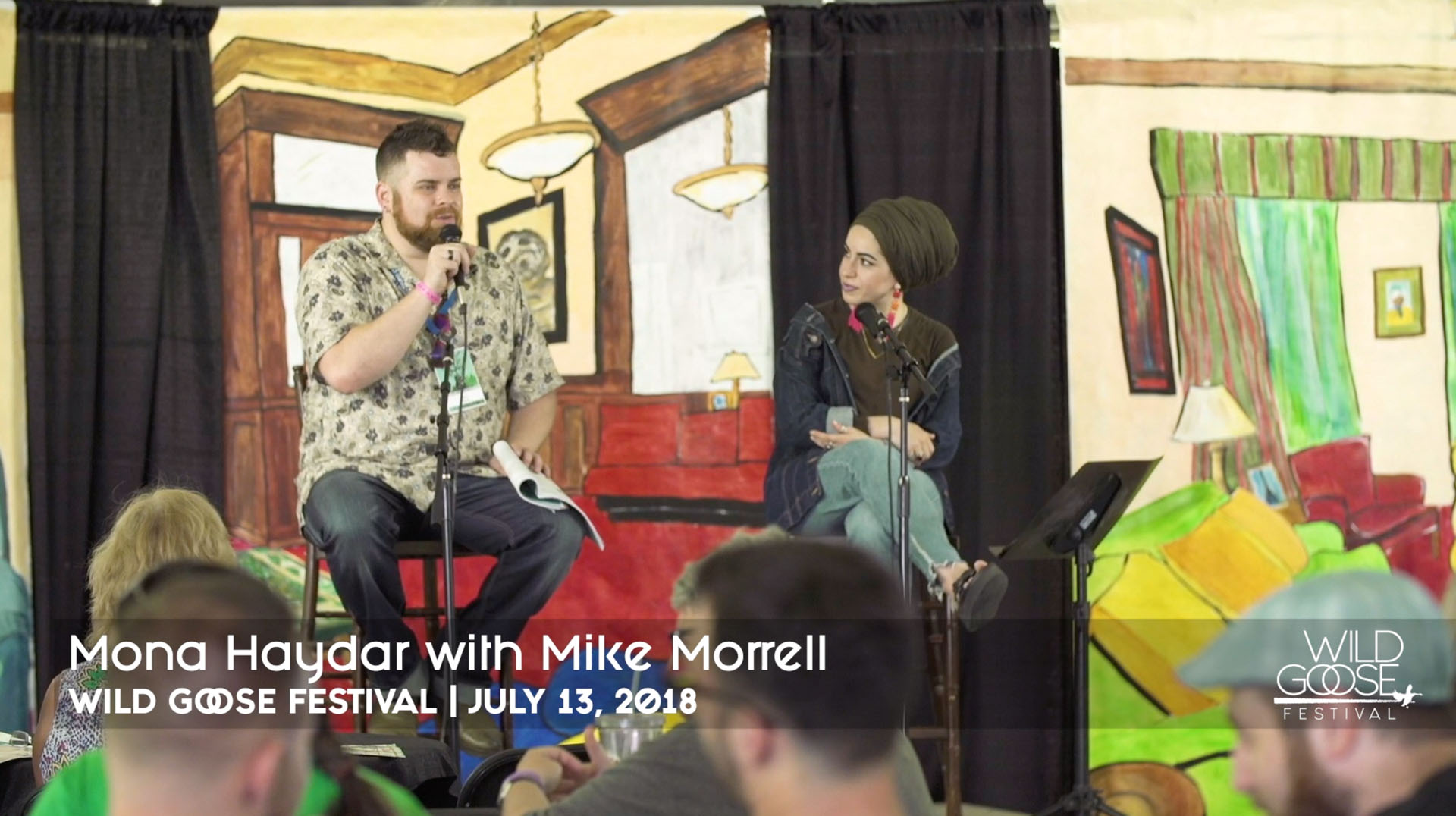 Mona Haydar – A Conversation with Mike Morrell