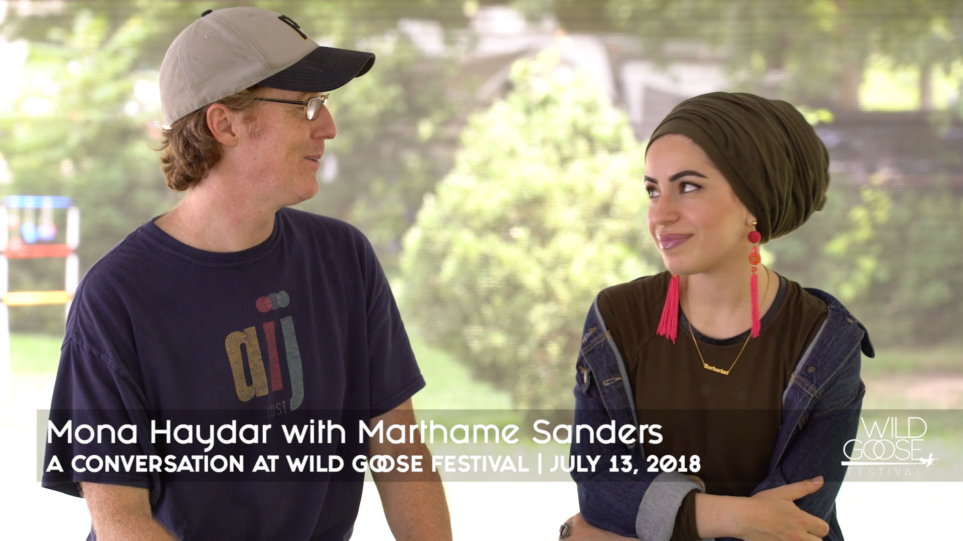 Mona Haydar Conversation with Marthame Sanders