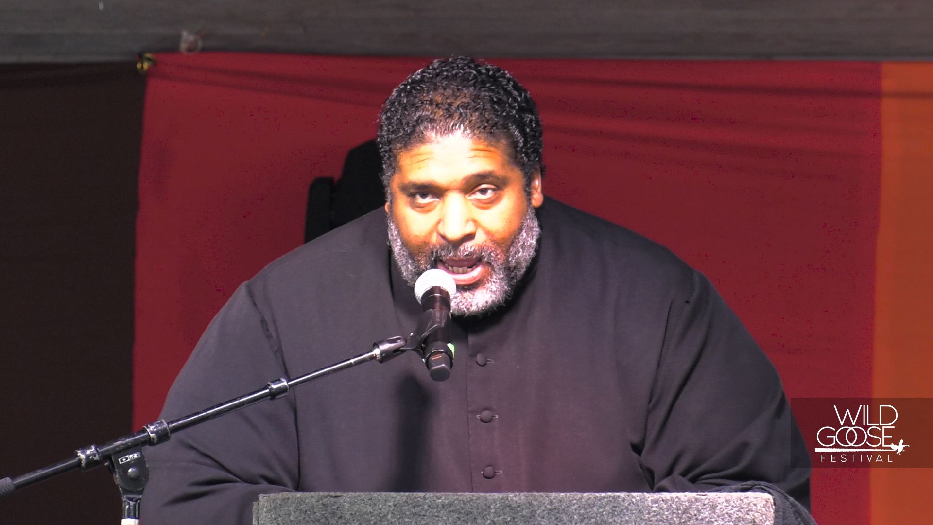 REV. DR. WILLIAM BARBER II WAKES THE GOOSE