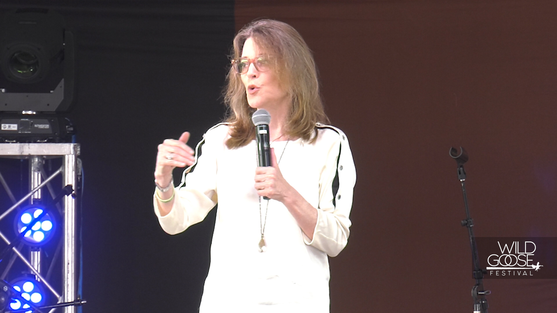 MARIANNE WILLIAMSON: THE RE-EMERGENCE OF THE RELIGIOUS LEFT